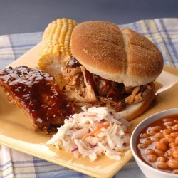 BBQ Pulled Pork Sandwiches With Homemade BBQ Sauce