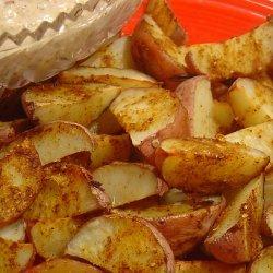 Spicy Indian Potato Wedges recipe