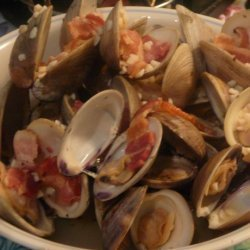 Clams in Garlic & White Wine recipe