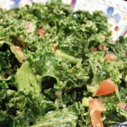 Kale Salad With Avocado for Two