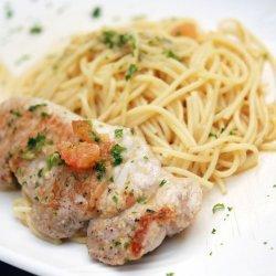 Pork Cutlets with Spaghetti
