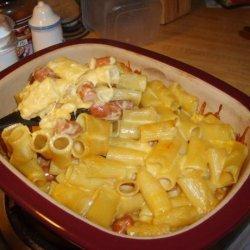 Baked Lil' Smokies N Homemade Mac-N-Cheese