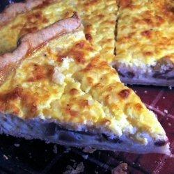 Cottage Cheese Quiche Lorraine