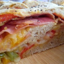 Meat and Cheese Stromboli