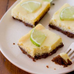 Key Lime Cheesecake Squares