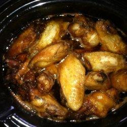 Chicken Wings in Honey Sauce - Crock Pot