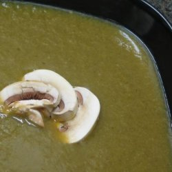 Vegetarian Cream of Mushroom Soup