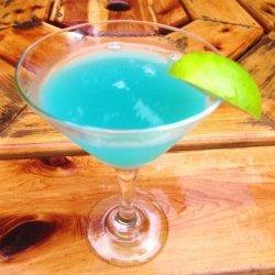 Toopua Blue Lagoon Cocktail