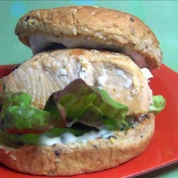 Delicious Grilled Salmon Sandwiches