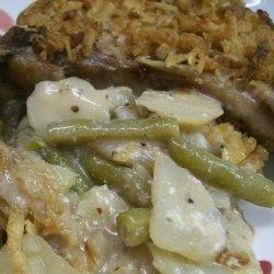 Pork Chop Dinner Casserole