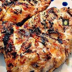 Moist Garlic Chicken