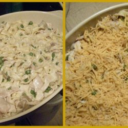 Chicken Noodle Hot Dish