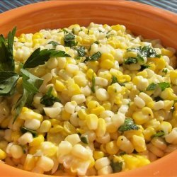 Fresh Corn With Lime and Cilantro