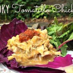 Smoky Tomatillo Chicken
