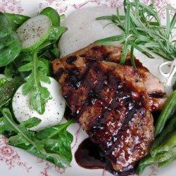 Pork Chops With Raspberry Glaze