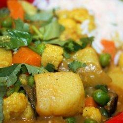 Madras Vegetable Curry (Vegetarian)