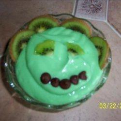 Kiwi Green Goblin Pudding
