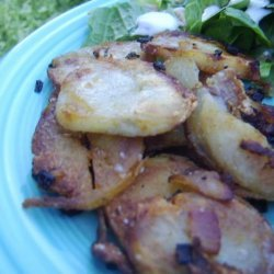 German Cottage Potatoes With Bacon