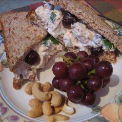 Julie's Favorite Cashew Chicken Salad Sandwich