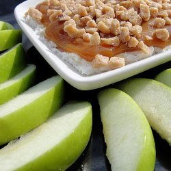 Caramel Apple Brickle Dip