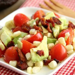 Bacon, Avocado & Tomato Salad