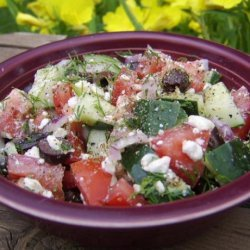 Salata Horiatiki (Greek Salad)