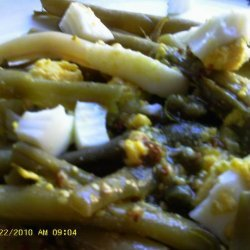 Green Bean Salad with Mustard-Caper Vinaigrette
