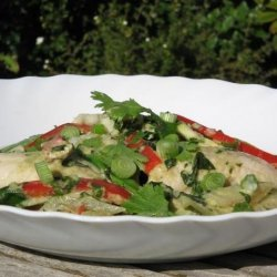Green Curried Fish