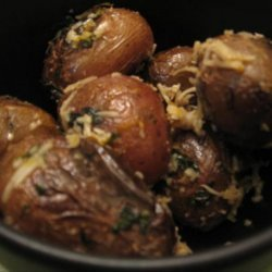Minted Orange Baby Potatoes