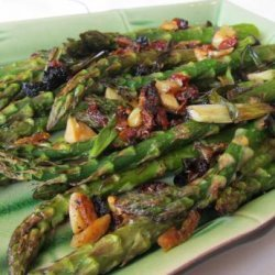 Roasted Aspargus With Scallions and Sun-Dried Tomatoes recipe