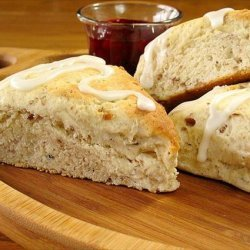 Double  Maple Syrup  Scones