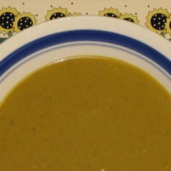 Chicken Coconut Curry Soup - A.k.a. Easy Mulligatawny!