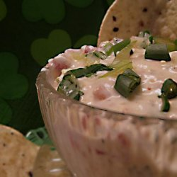 Roasted Red Pepper & Green Onion Dip