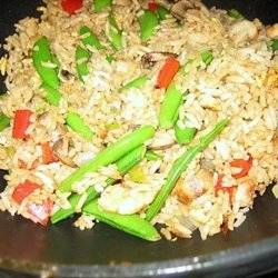 Shrimp and Egg Fried Rice