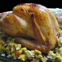 Herb-Roasted Turkey With Maple Gravy