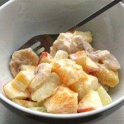 Sour Cream Fruit Salad