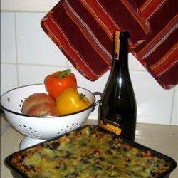 Vegetarian-Blue Cheese-Pesto-Lasagna!