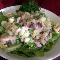 Seashell Shrimp Salad