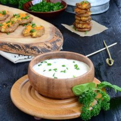 Cream Cheese Garlic Dip