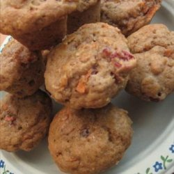 Mini Carrot Cranberry Muffins