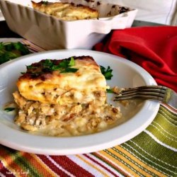Southwest Chicken Lasagna