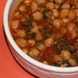 Chickpea and Spinach Stew