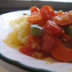 Chakalaka (South African Vegetable Stir-Fry)