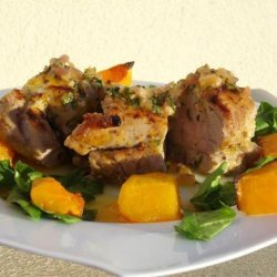 Grilled Pork Tenderloin a La Rodriguez With Guava Glaze... recipe