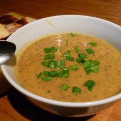 Sweet Potato Soup (Curried Kumara Soup)