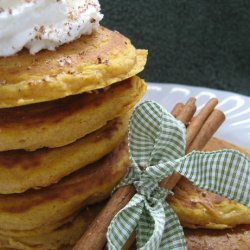 Yummy Gingerbread Pancakes