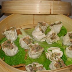 Chicken and Green Onion Dumplings W/ Balsamic Soy Dipping Sauce recipe