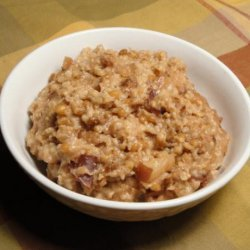 Apple Oatmeal (Crock-Pot)