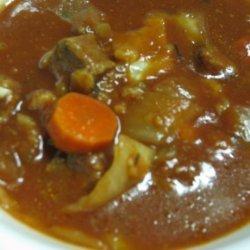 Beef and Barley Soup (Crock Pot)