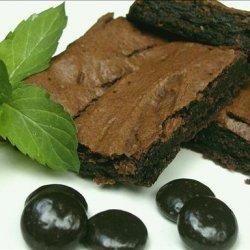Healthy (kind of ) Chocolate Mint Brownies recipe